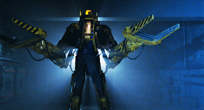 The Power Loader exoskeleton from Aliens