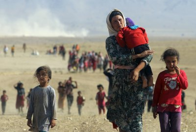 displaced  Yazidi Syria