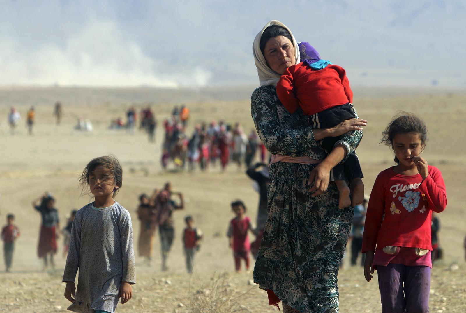 displaced  Yazidi Syria