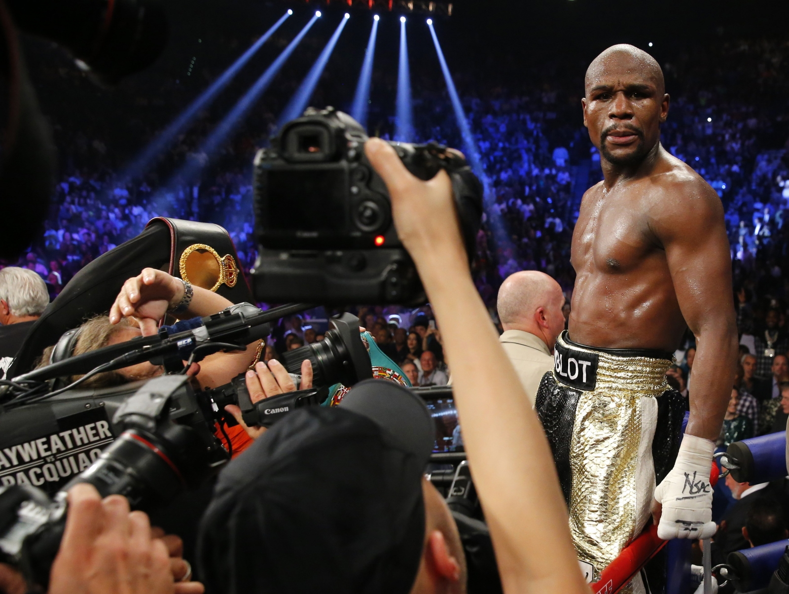 Floyd Mayweather title Manny Pacquaio fight