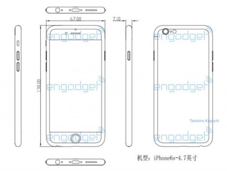 iPhone 6s schematics