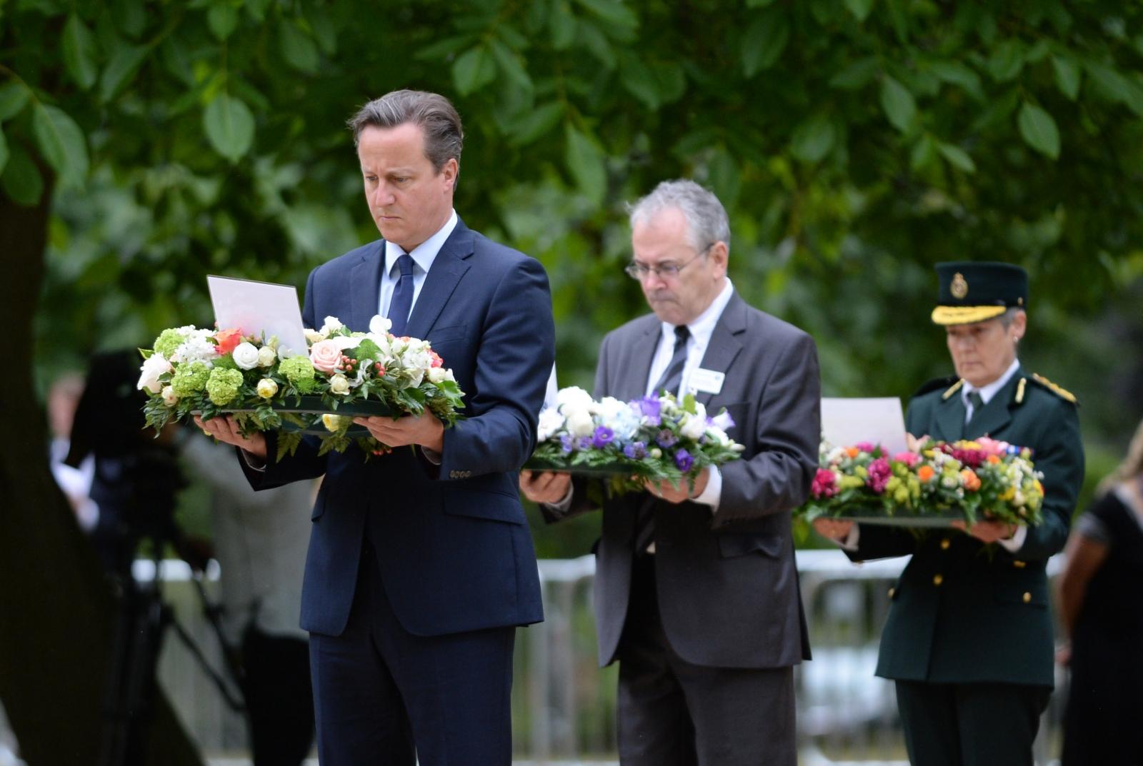 David Cameron 7/7 anniversary