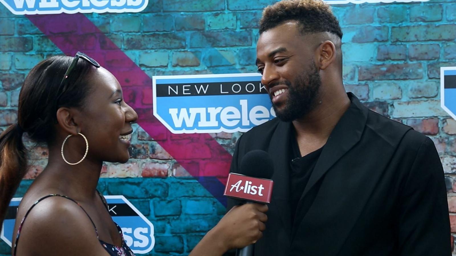Wireless Festival Oritsé Williams Interview