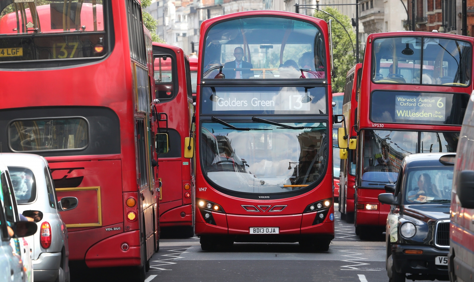 London bus services