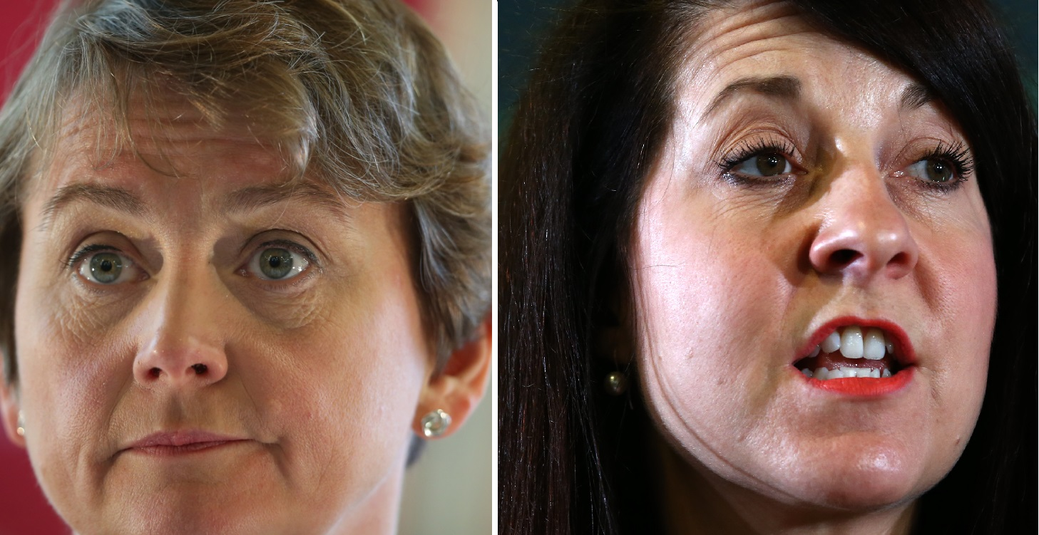 Yvette Cooper and Liz Kendall