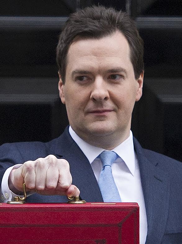 George Osborne 2013