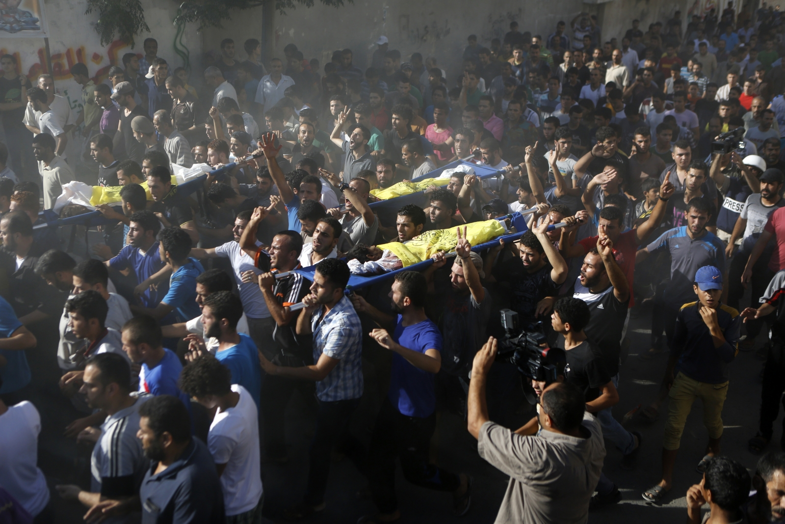Gaza War one year on: How the bloody conflict between Israel and Hamas escalated