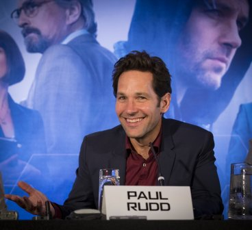 Paul Rudd at Ant-Man European press conference