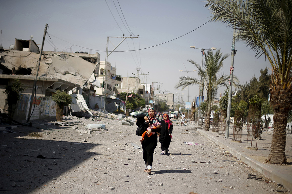 Gaza one year on