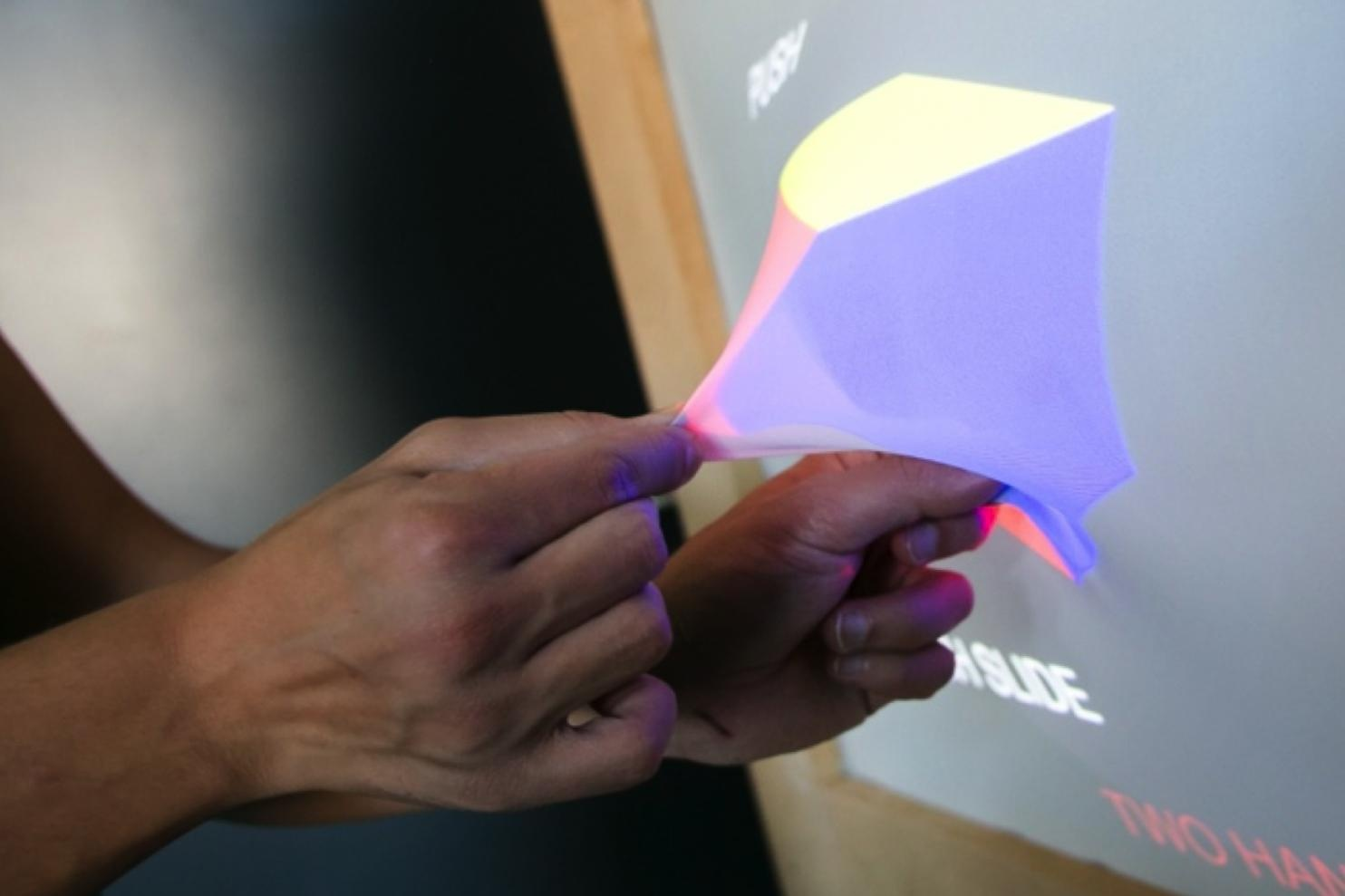 GHOST ultrasound haptic shape-changing displays