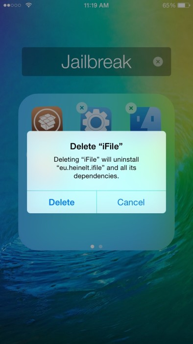 How to easily delete or uninstall problematic Cydia tweaks