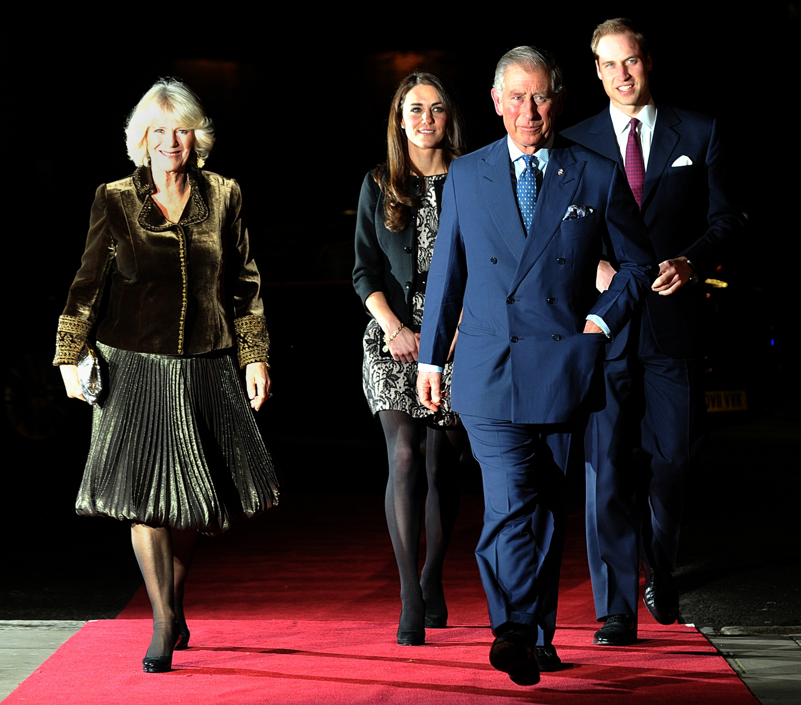 Prince Charles, Kate Middleton, Prince William andCamilla