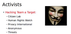 Hacking Team's Enemies