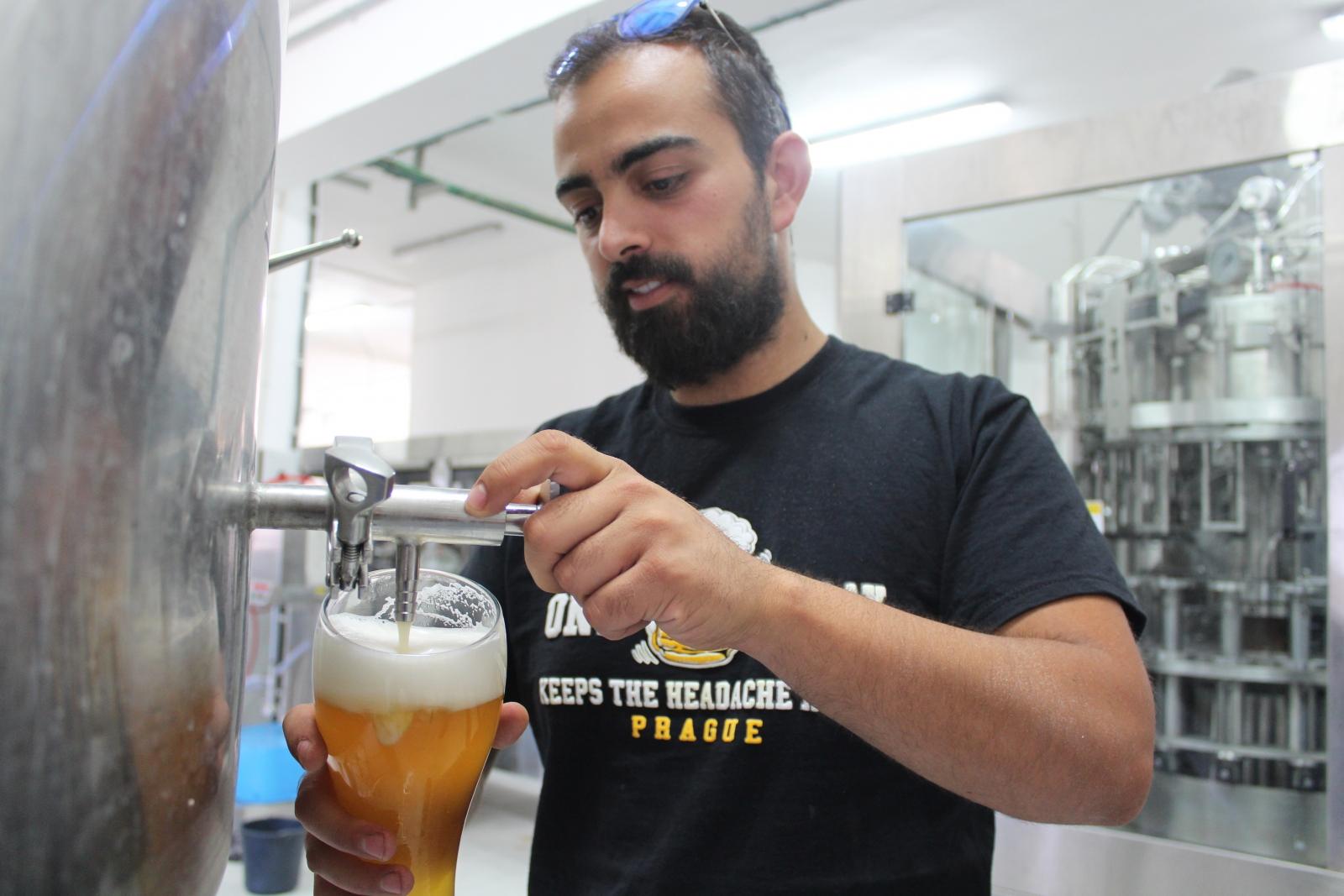 West Bank beer