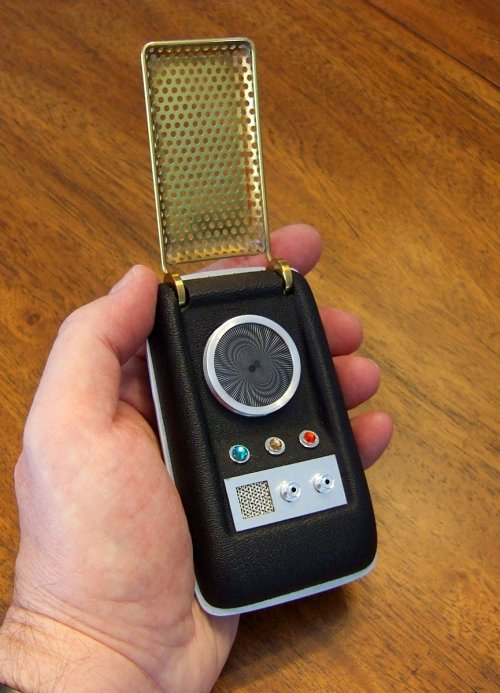 Original Star Trek Communicator prop reproduction