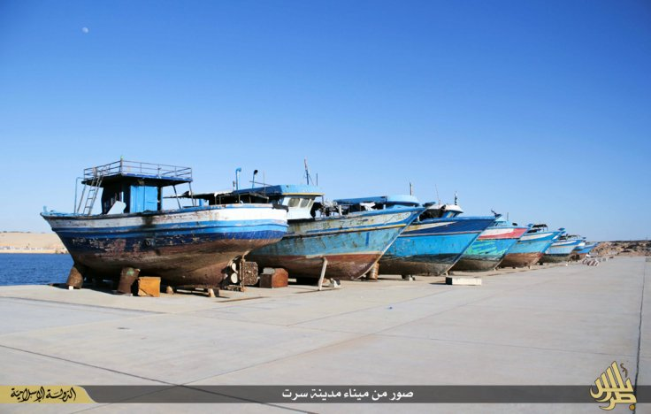 IS boats Sirte