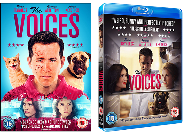 The Voices DVD & Blu-Ray