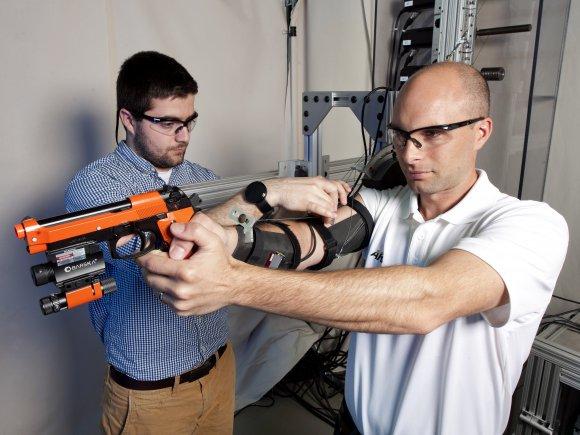 US Army robot arm exoskeleton