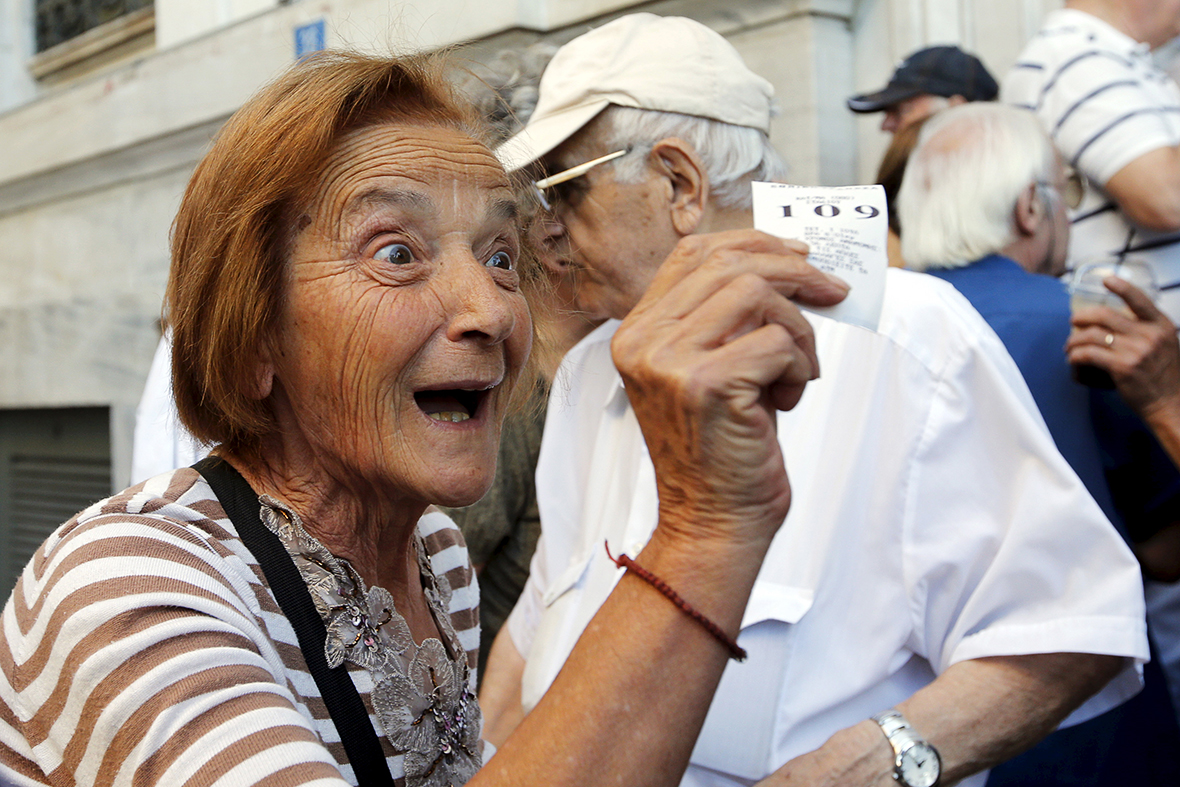 greece pensioners