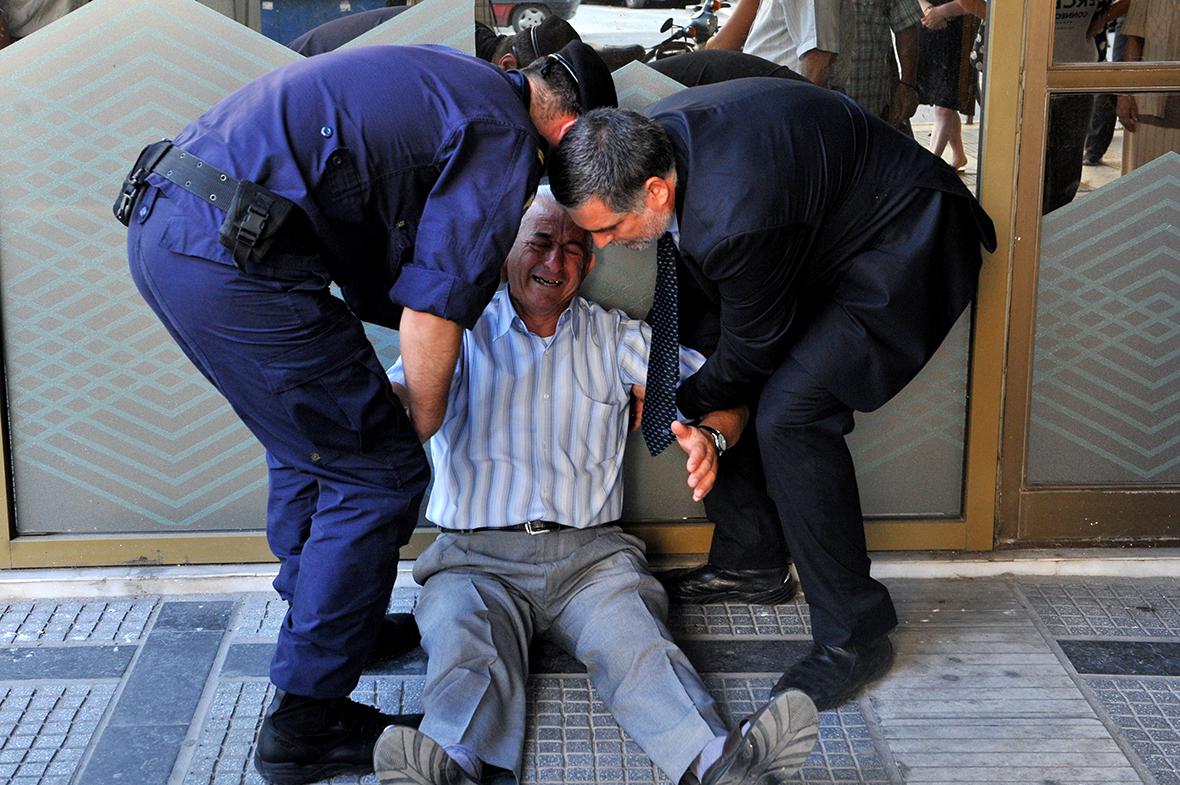 greece pensioners