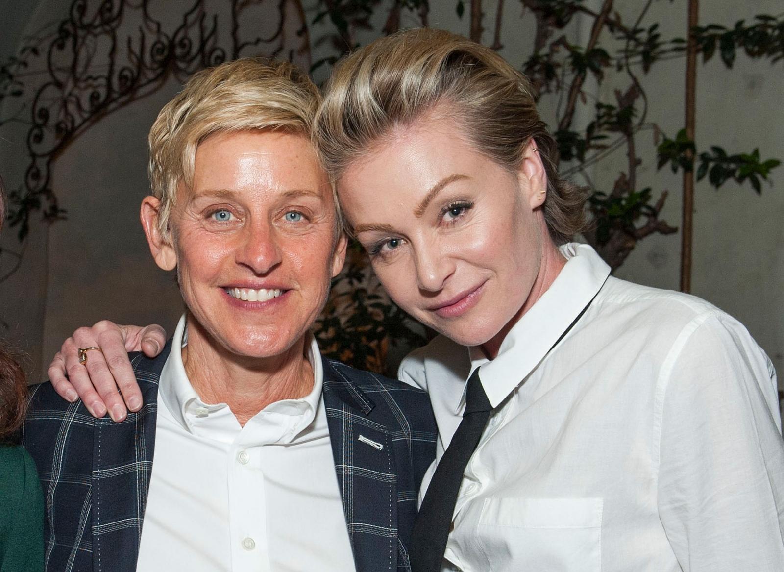 Ellen DeGeneres And Portia De Rossi: Couple Allegedly