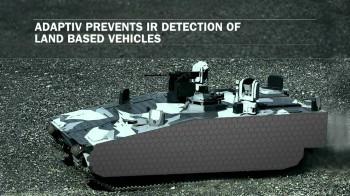 The BAE Adaptiv invisibility cloak for tanks