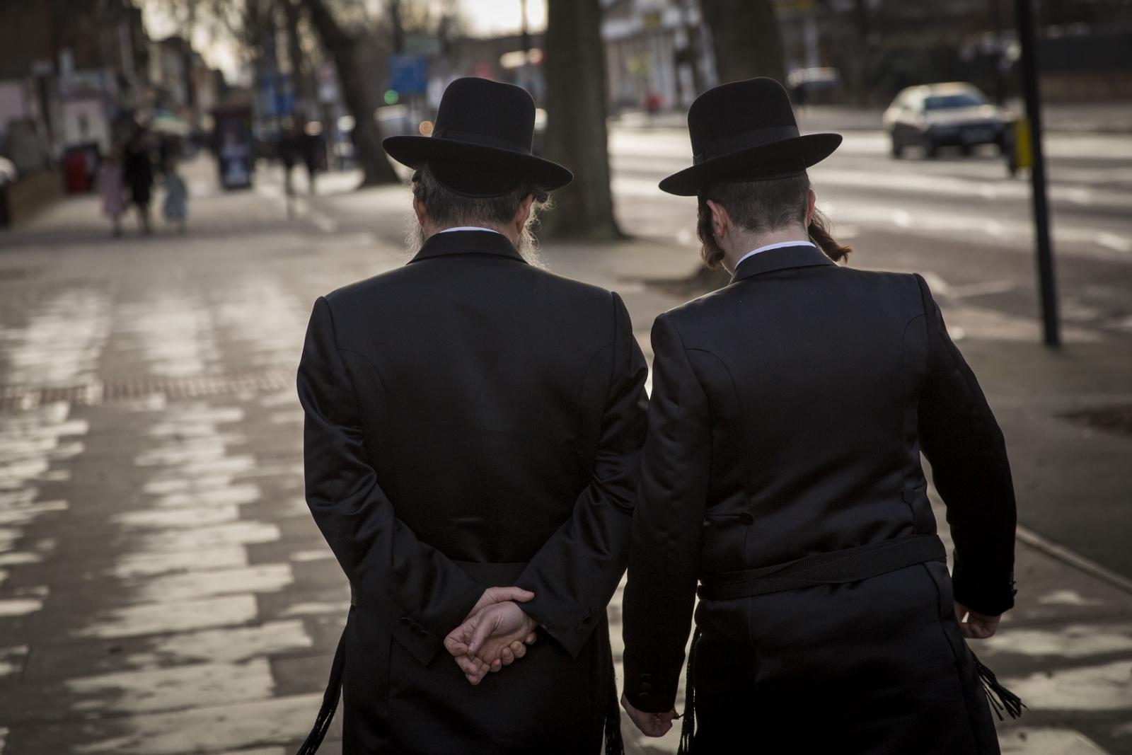 Orthodox Jews in London