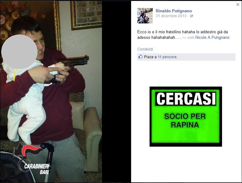 Bari Facebook robber