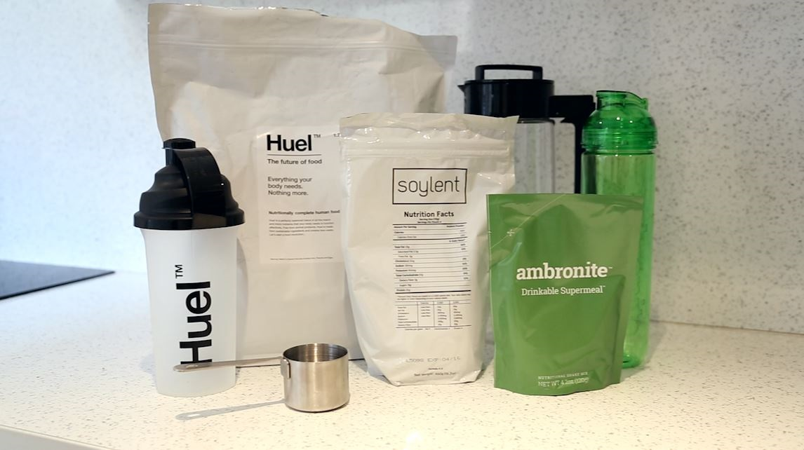 Ambronite future food soylent huel