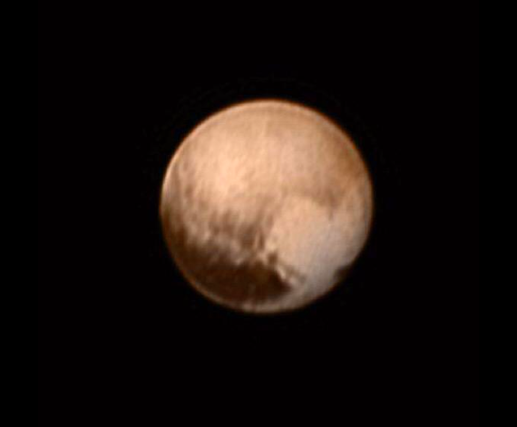 Nasa New Horizons finds dwarf planet Pluto sporting a ...