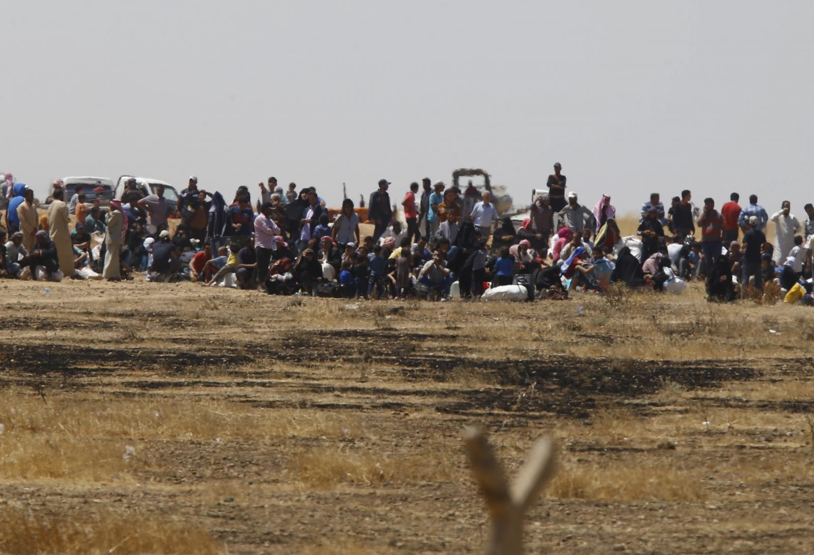 Syrian refugee figures