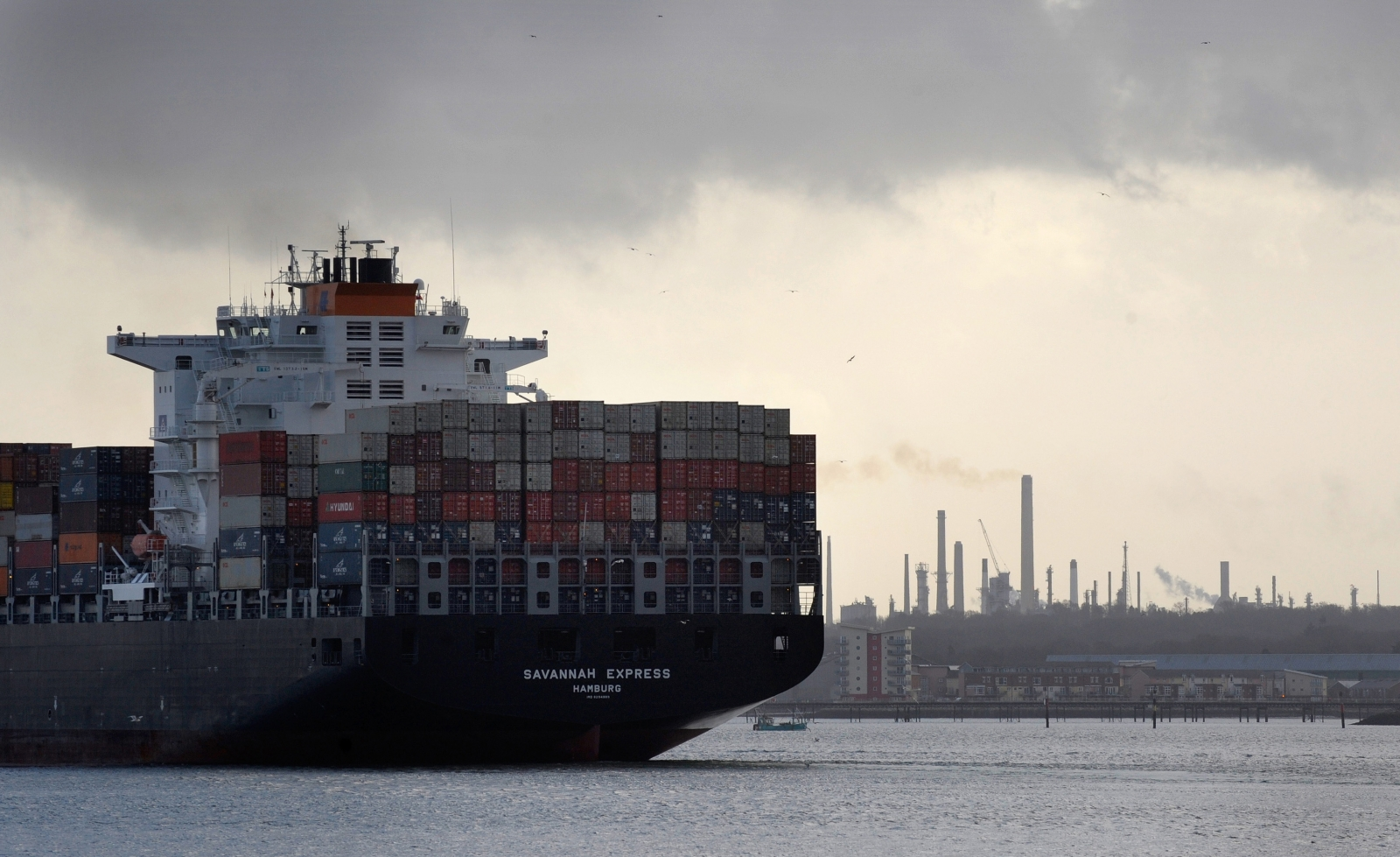 UK trade ship