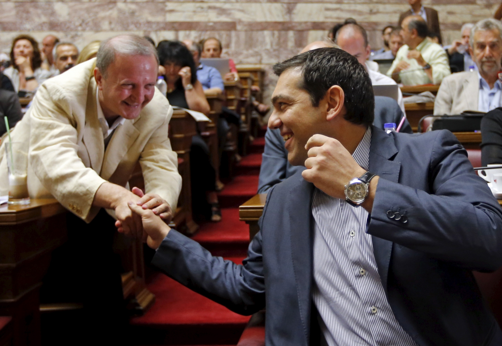 Syriza Greek Parliament