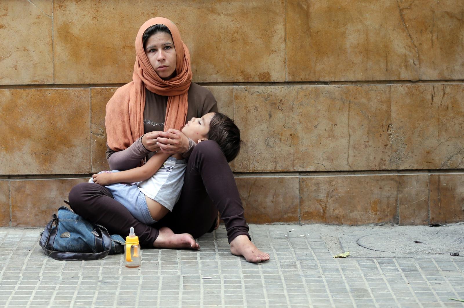 Refugee women Syria