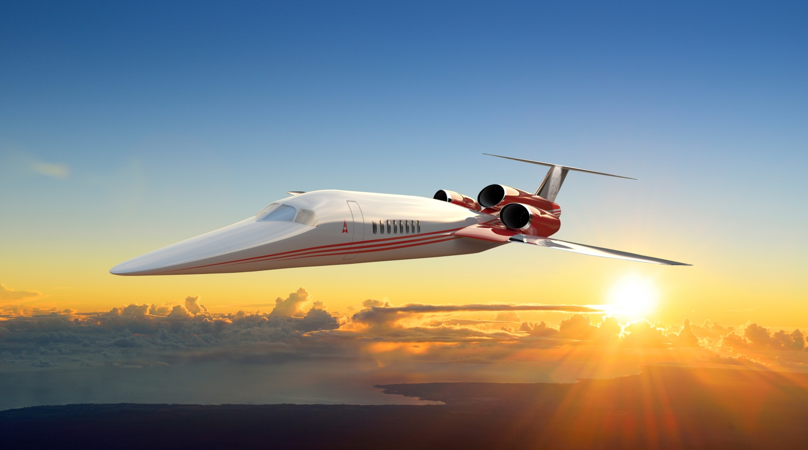 The Aerion AS2 supersonic business jet