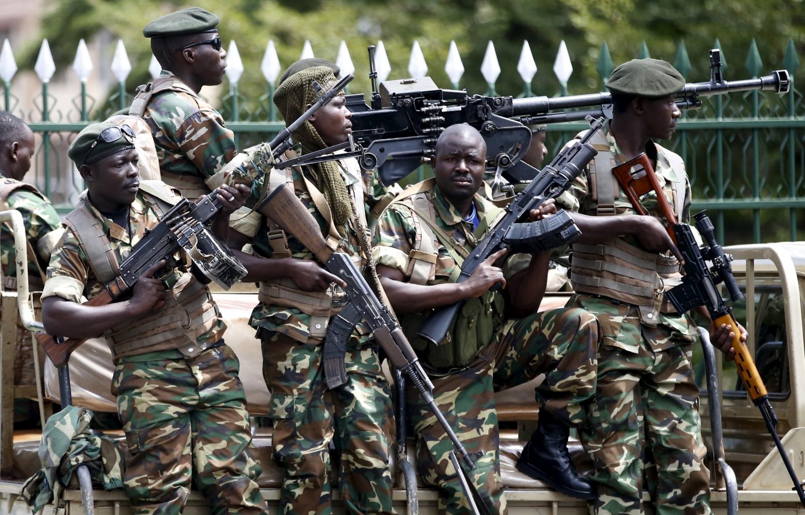 burundi troops