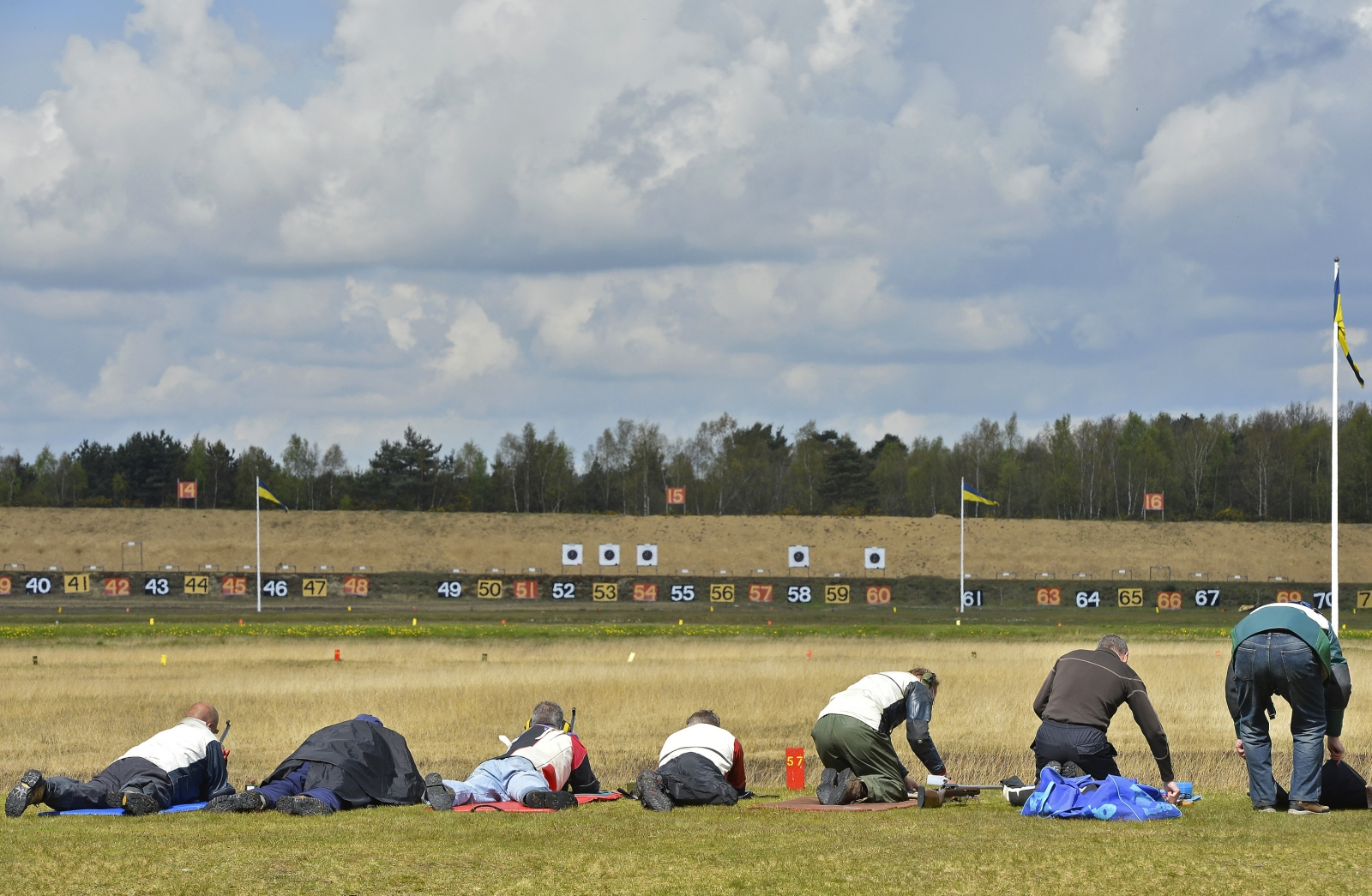 Sharp shooting Bisley Surrey