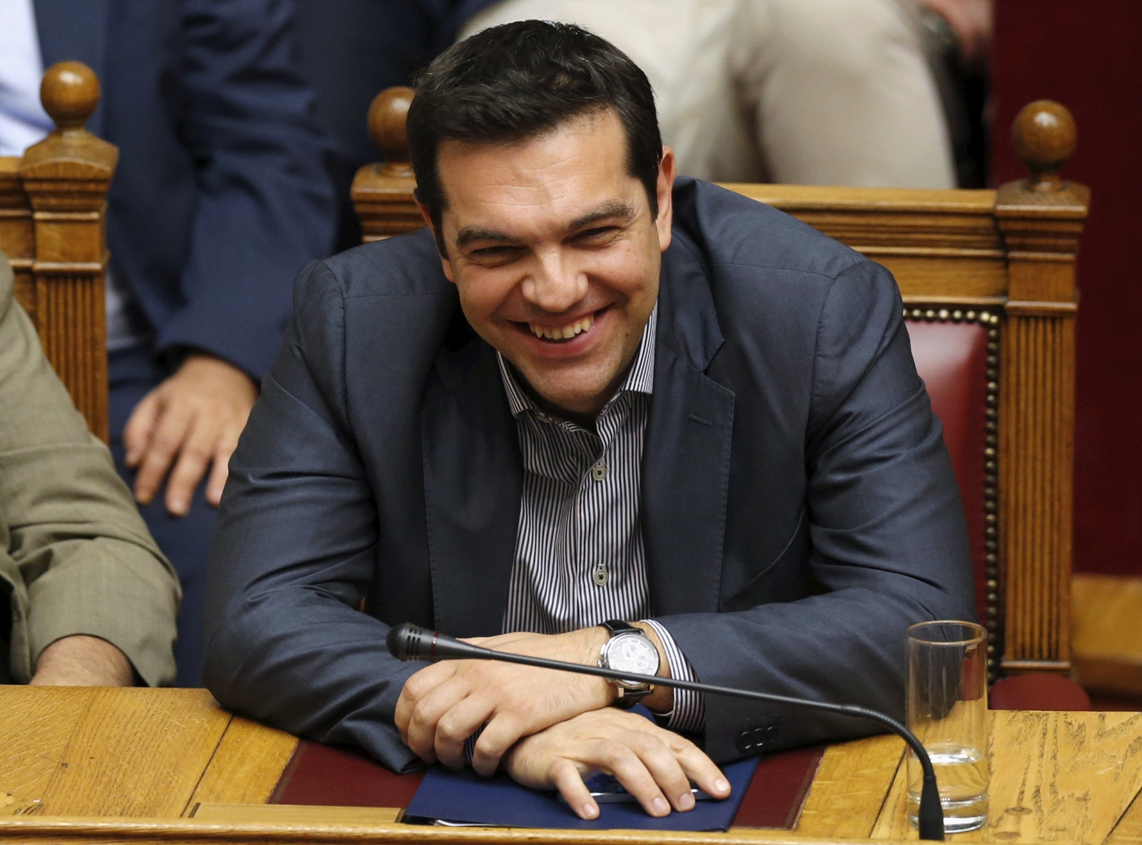 Greek parliament voting