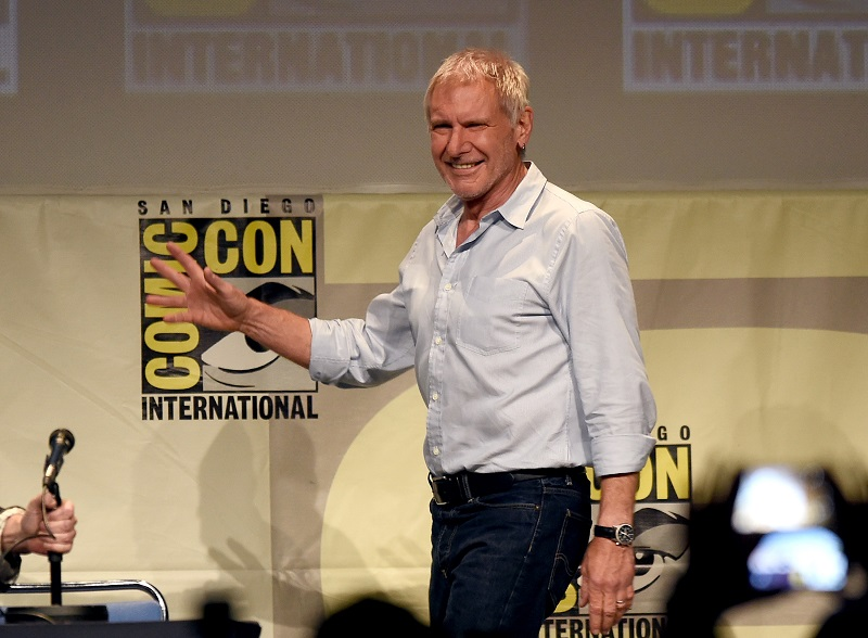 Harrison Ford at Star Wars Comic-Con