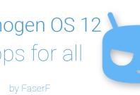 Cyanogen OS 12 Apps