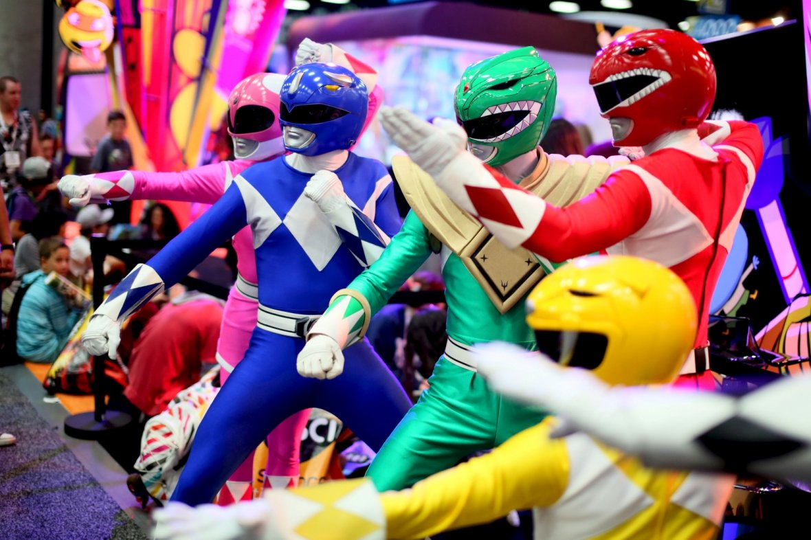 Comic Con 2015 Power Rangers