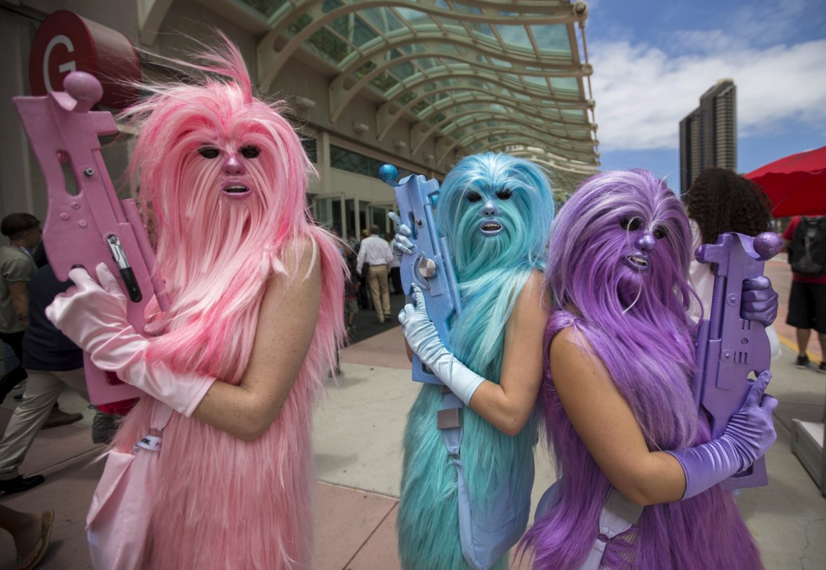 Star Wars Chew Angels Comic Con 2015