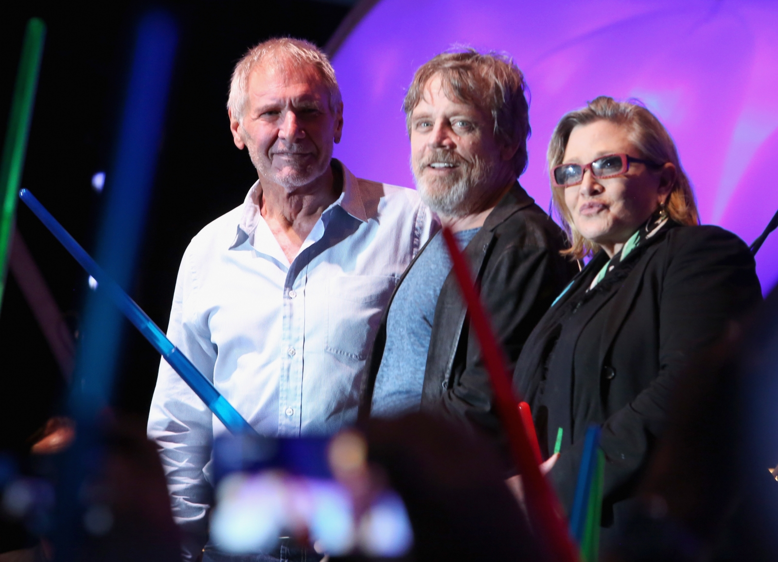 Harrison Ford at Comic Con Star Wars