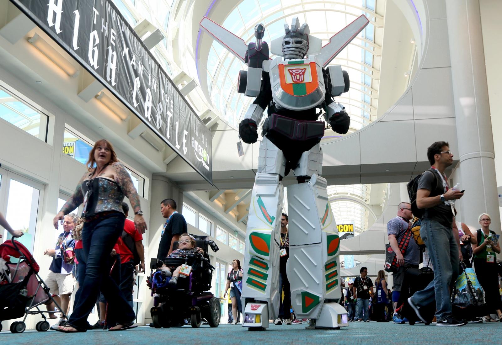 Comic Con Transformer