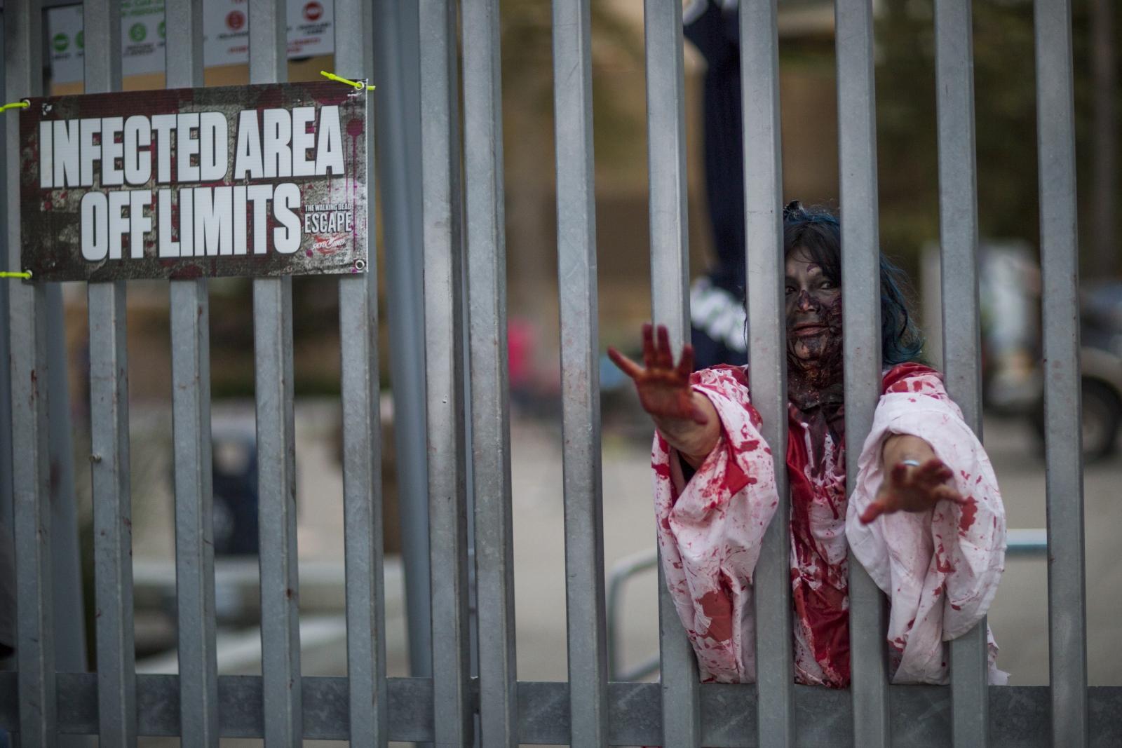 Comic Con Zombie