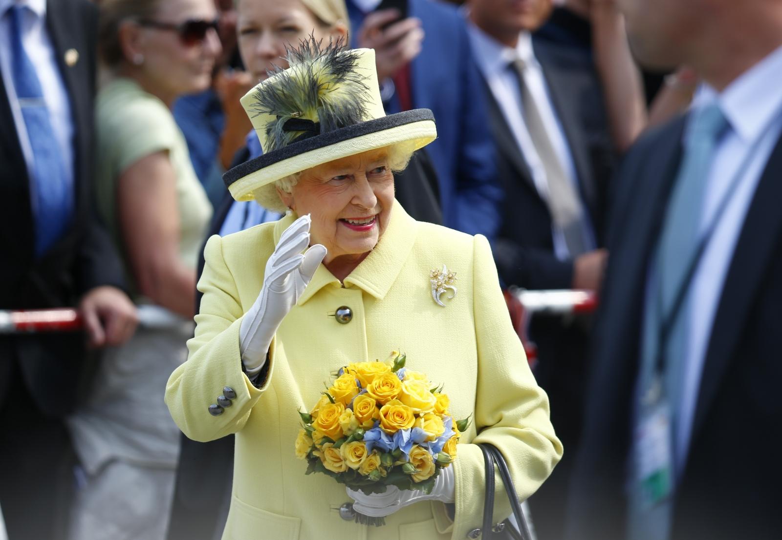 Queen Windsor Castle  Heathrow Expansion
