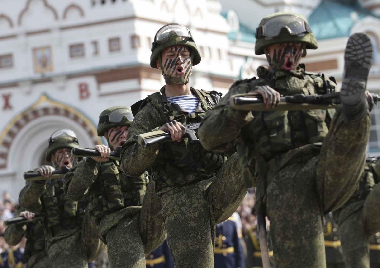 Russia military barracks collapse in Omsk