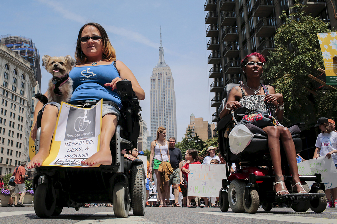 New york times dating with a disability