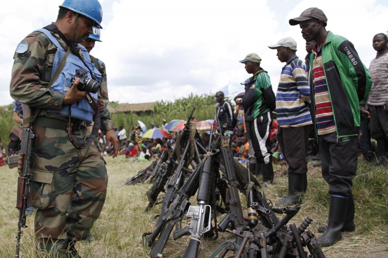 FDLR arms Congo DRC Rwanda