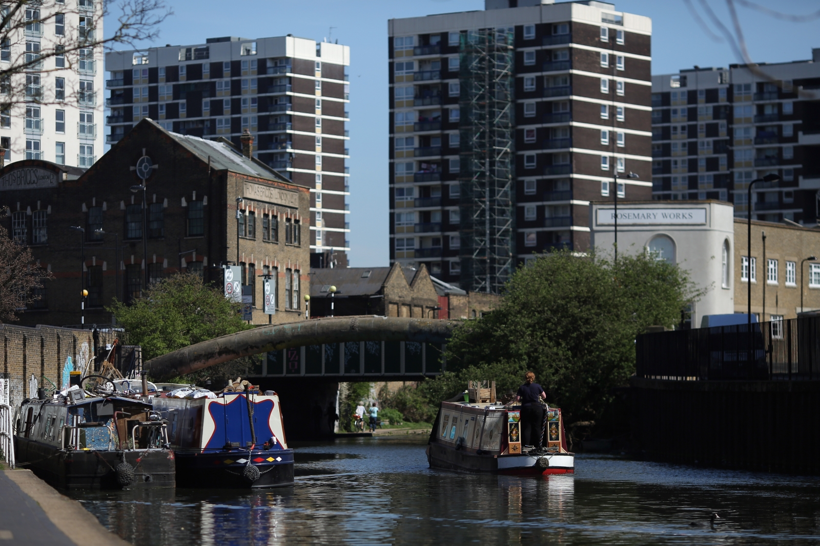 london canals boats